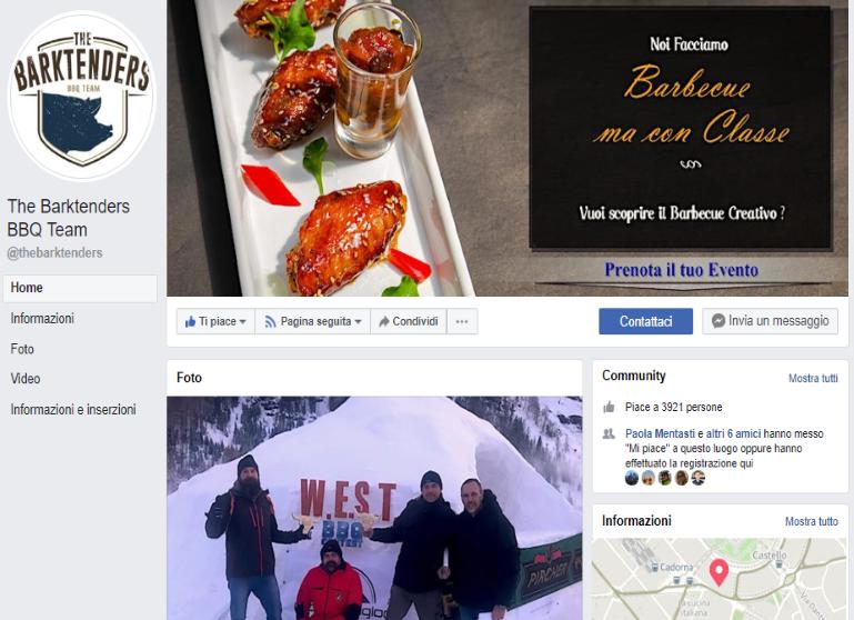 barbecuecatering - Marco Agostini - Pagina Facebook